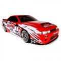 HPI E10 Drift 1/10 RTR Car Discount Tire/Falken Nissan S13 Body